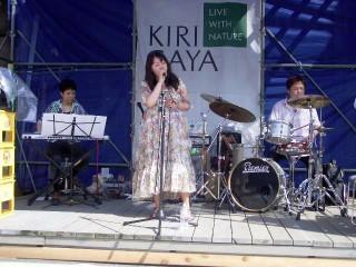 キリガヤ祭のStage