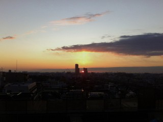 morning sunrise